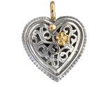 02001250p gerochristo 1250 gold silver heart pendant 1 thumb155 crop