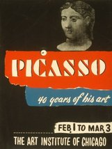 PICASSO THE ART INSTITUTE OF CHICAGO UNITED STATES AMERICAN US USA VINTA... - $8.72