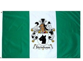 Steinhaus Coat of Arms Flag / Family Crest Flag - $29.99