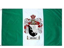 Strobel Coat of Arms Flag / Family Crest Flag - $29.99