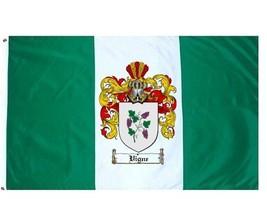 Vigne Coat of Arms Flag / Family Crest Flag - $29.99