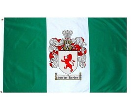 Vonderheyden Coat of Arms Flag / Family Crest Flag - $29.99