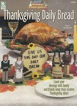 Thanksgiving Daily Bread, Holiday Plastic Canvas Pattern Booklet HWB 186005 - $3.95