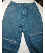 Cabela's Casuals Womens Reg Fit Flannel Lined Blue Jeans Size 12 Regular - $15.24