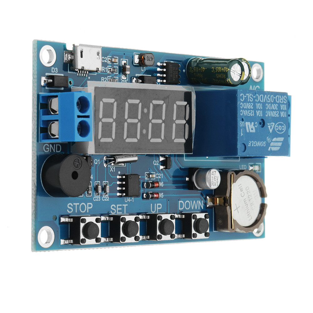 DC 5V To 60V Real-time Relay Module Clock Synchronization Timer Module Time Cont image 4