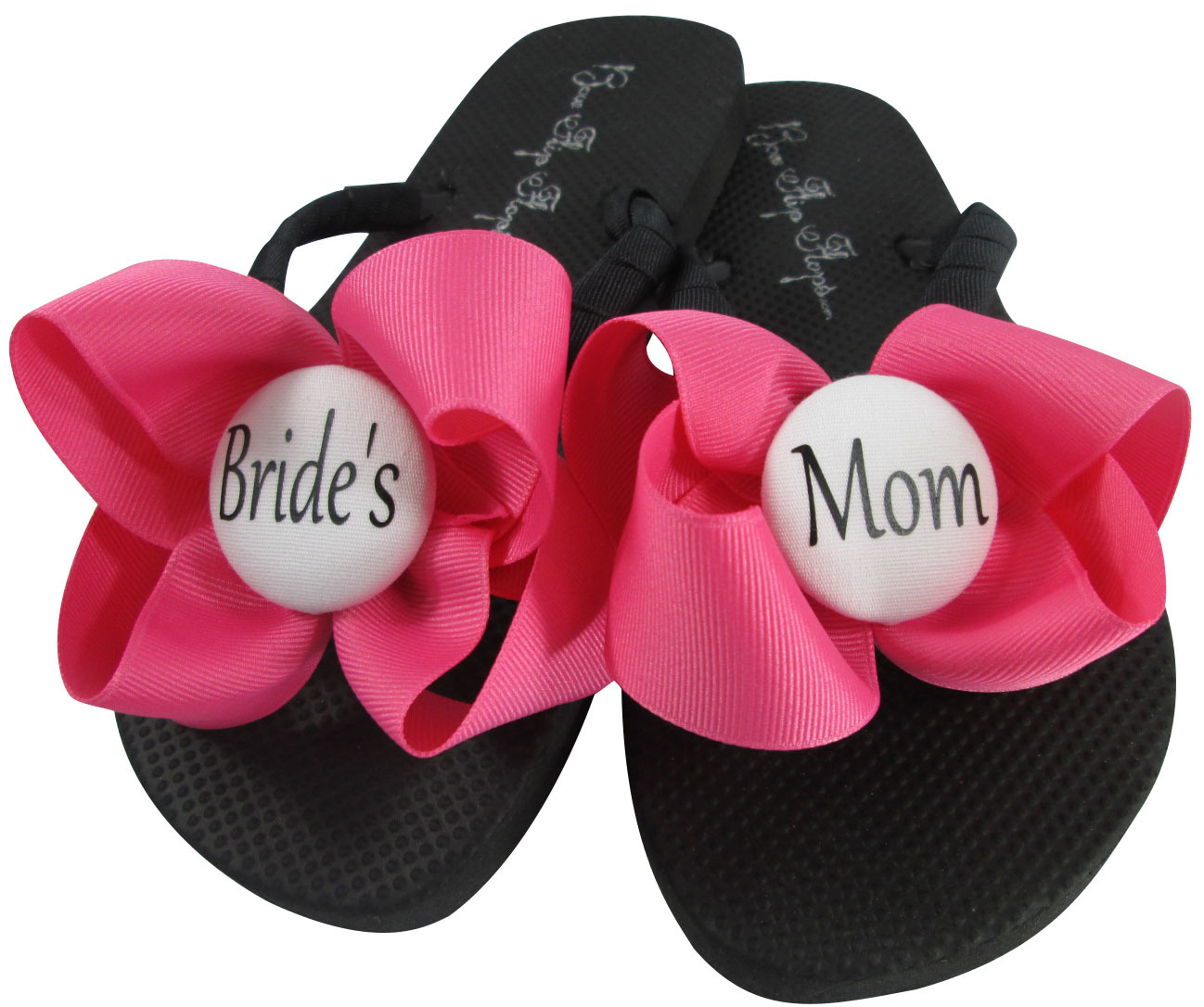33c45512c Pink Mother of the Bride Bow Flip Flops  and 50 similar items