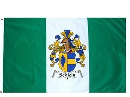 Schlein Coat of Arms Flag / Family Crest Flag - $29.99