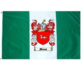 Senak Coat of Arms Flag / Family Crest Flag - $29.99