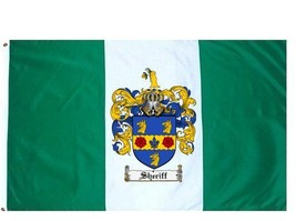 Sheriff Coat of Arms Flag / Family Crest Flag - $29.99
