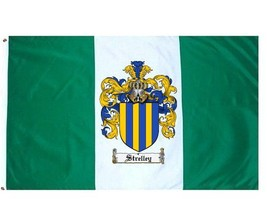 Strelley Coat of Arms Flag / Family Crest Flag - $29.99