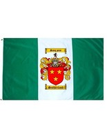 Sutherland Coat of Arms Flag / Family Crest Flag - $29.99