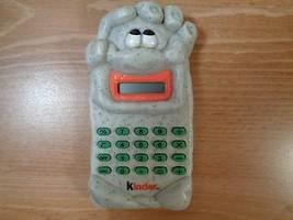 "1997 Ferrero Kinder sorpresa Ciottolosi green calculator ""Pitagorica"" - $24.75"