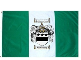 Towneley Coat of Arms Flag / Family Crest Flag - $29.99