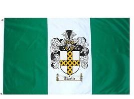 Twaite Coat of Arms Flag / Family Crest Flag - $29.99