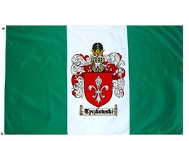 Tyczkowski Coat of Arms Flag / Family Crest Flag - $29.99