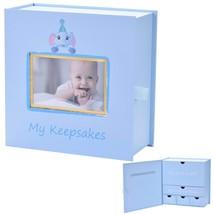 Baby Keepsake Box, First Year Baby Memory Box Set: Record Your Girls or ... - $27.92
