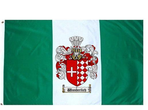 Wunderlich crest flag