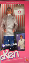 ~ NEW ~VINTAGE 1987 DOCTOR KEN DOLL~ #4118 ~ INCLUDES OVER 20 PIECES ~ NRFB - $38.61