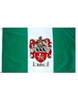 Ruffner Coat of Arms Flag / Family Crest Flag - $29.99