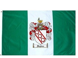Septon Coat of Arms Flag / Family Crest Flag - $29.99