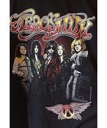 Aerosmith 2015 Interconnect Rocks IBM Rocket Concert Black Graphic T Shi... - $17.95