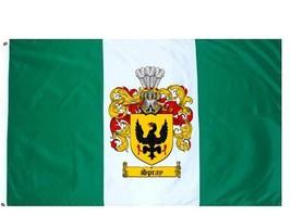 Spray Coat of Arms Flag / Family Crest Flag - $29.99