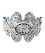 Fire cuff silver blue logo thumbtall