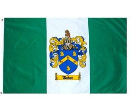 Tabor Coat of Arms Flag / Family Crest Flag - $29.99