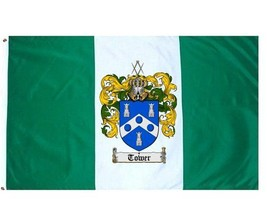 Tower Coat of Arms Flag / Family Crest Flag - $29.99