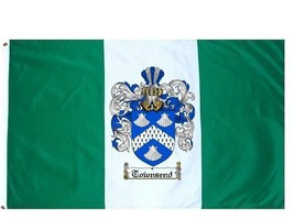 Townsend Coat of Arms Flag / Family Crest Flag - $29.99