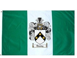 Twoley Coat of Arms Flag / Family Crest Flag - $29.99