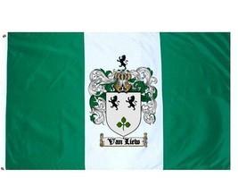 Vanliew Coat of Arms Flag / Family Crest Flag - $29.99