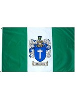 Wieczorek Coat of Arms Flag / Family Crest Flag - $29.99