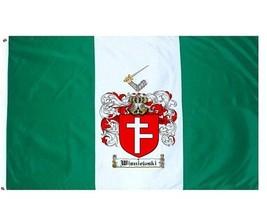 Wisniewski Coat of Arms Flag / Family Crest Flag - $29.99