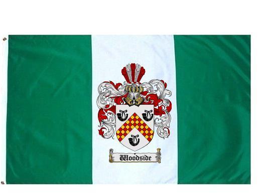Woodside crest flag