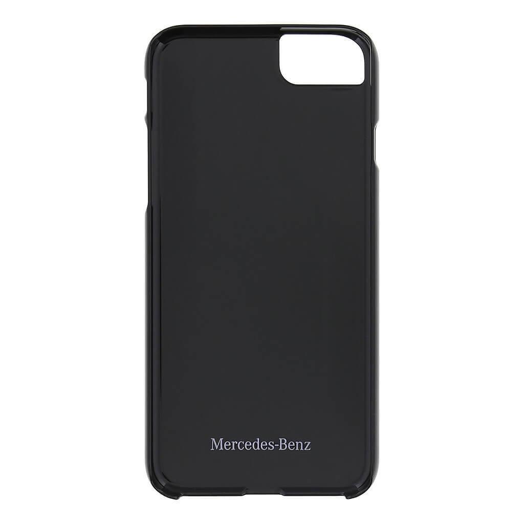 Mercedes-Benz Aluminium Brushed Hard - Designer aluminum Case for iPhone 7 Black