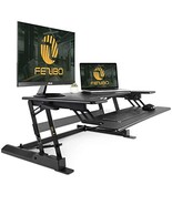 Standing Desk Converter with Height Adjustable – FEZIBO Sit to Stand up ... - $185.64