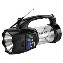 QFX Emergency Flashlight/Lantern with FM Radio USB/SD and Recording Buil... - $43.61
