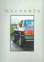 1991 Mazda 626 sales brochure catalog US 91 DX LX LE GT - $6.00