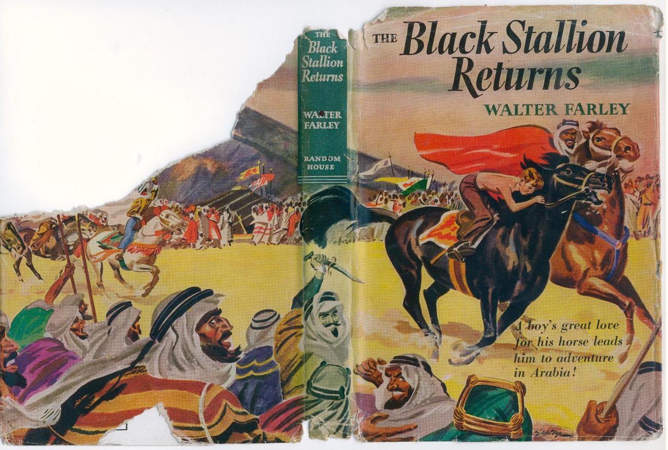 Walter Farley THE BLACK STALLION RETURNS 1945 SCARCE 1st pr.