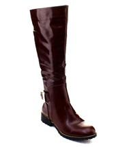 DBDK Fidelia-1 Women's Side Zip Chunky Heel Kne... - $29.97