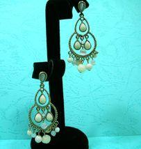 Liz Claiborne Antiqued Pearl Earrings - $39.95