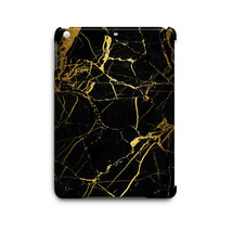 Cool Black Gold Marble Pattern iPad Air Hard Case Cover - $17.99