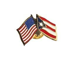 United States Puerto Rico Friendship Lapel Pin - $3.99