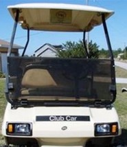 Club Car DS Tinted Fold Down Acrylic Windshield '00.5 - Up Golf Cart Parts - $78.39