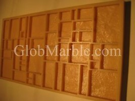 Concrete Stone Veneer Mold Mosaic Mould MS 831. Wall Tile Rubber Stone Form - $55.00