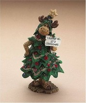"Boyds Moosetroop ""Bruce Spruceski.. Lighten up its Christmas"" #36920  -N... - $49.99"