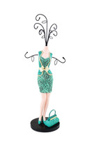 Jacki Design Cosmopolitan Mannequin Jewelry Holder Emerald - $41.80