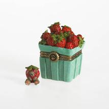 "Boyds Treasure Box ""Sweetie's Strawberry Basket W/Berry McNibble""  #4033638- NIB - $24.99"