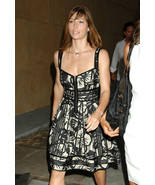 DIANE von FURSTENBERG IMA FLOWER CROSSING DRESS - $198.00